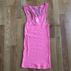 🌻🌻 Never worn junior coral tank top
